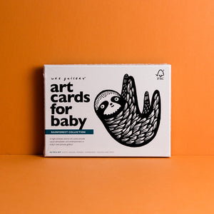 Art Cards for Baby - Rainforest