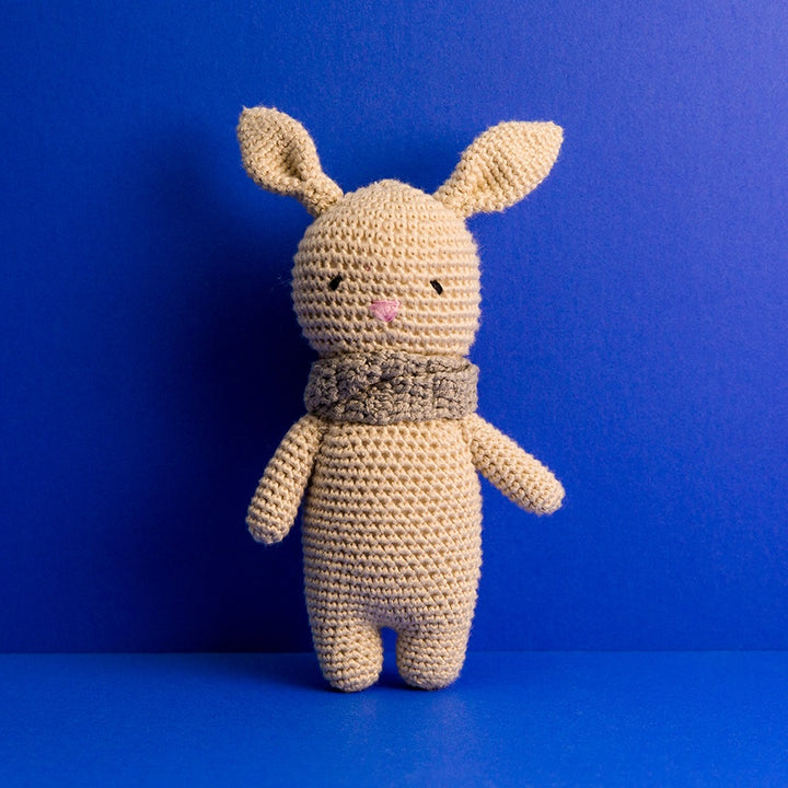 Mini Crocheted Doll - Bailey the Bunny