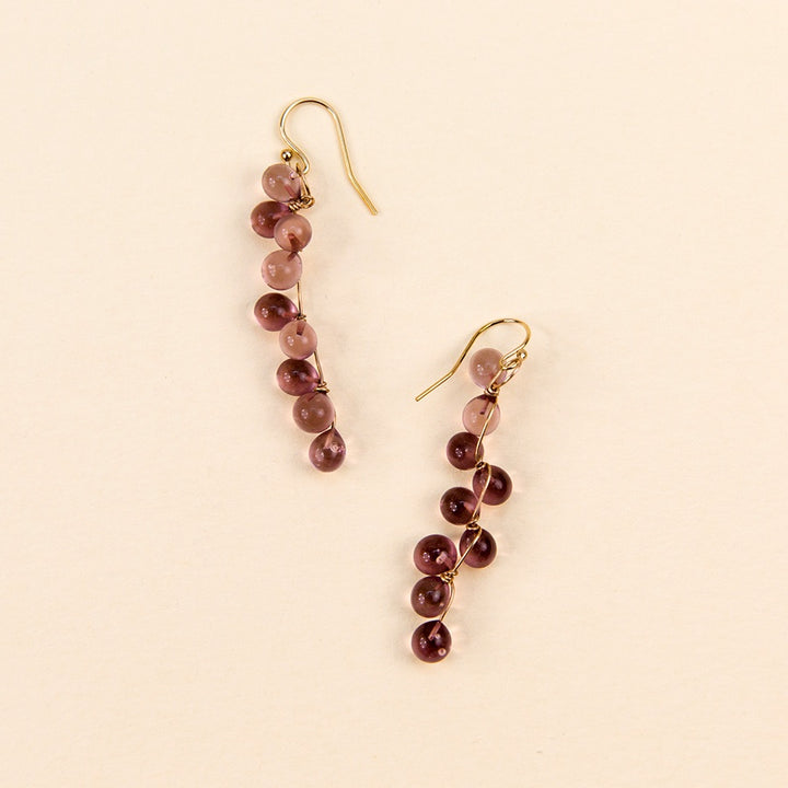Molecule Small String Earrings