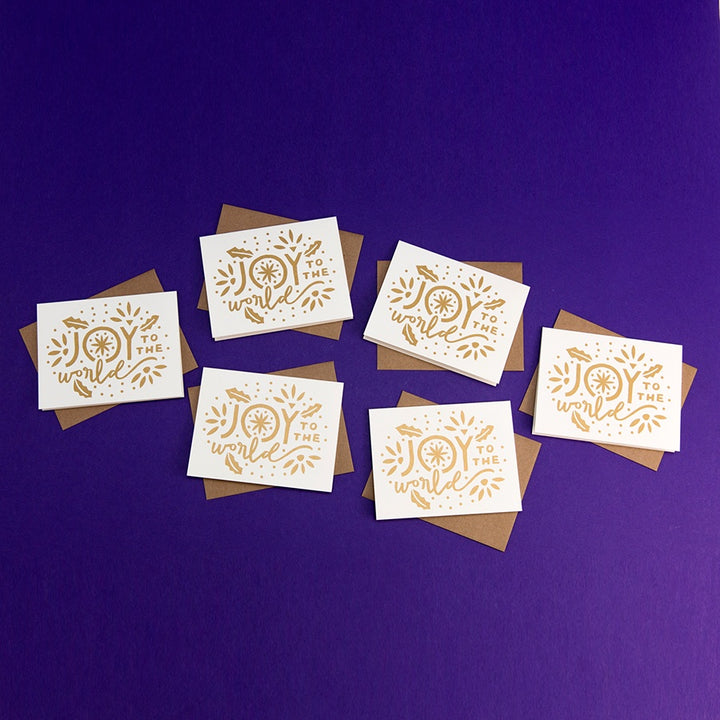 Joy to the World Holiday Card Boxed Set