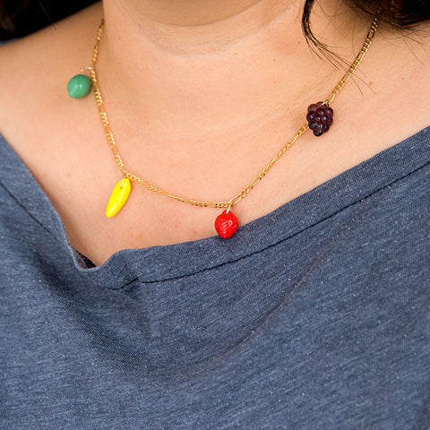 Fruit Chain Necklace