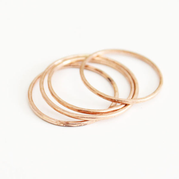 VERY THIN GOLD RING