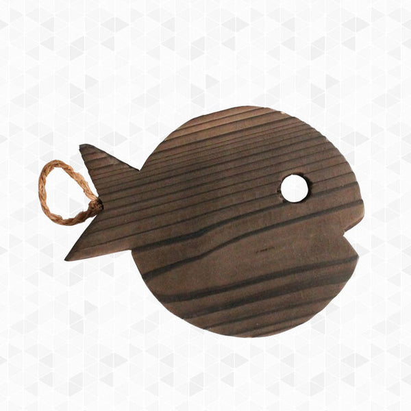 Wooden Fish Pot Trivet