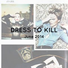 RUDYBOIS Dress to kill Magazine Fashion editorial with Karine Vanasse