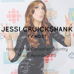 RUDYBOIS Jessi Cruickshank hosting Canadian Country Music Awards 2015