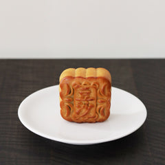 red bean mooncake whole