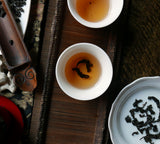 aged tieguanyin tea color