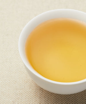 baozhong oolong tea liquor color