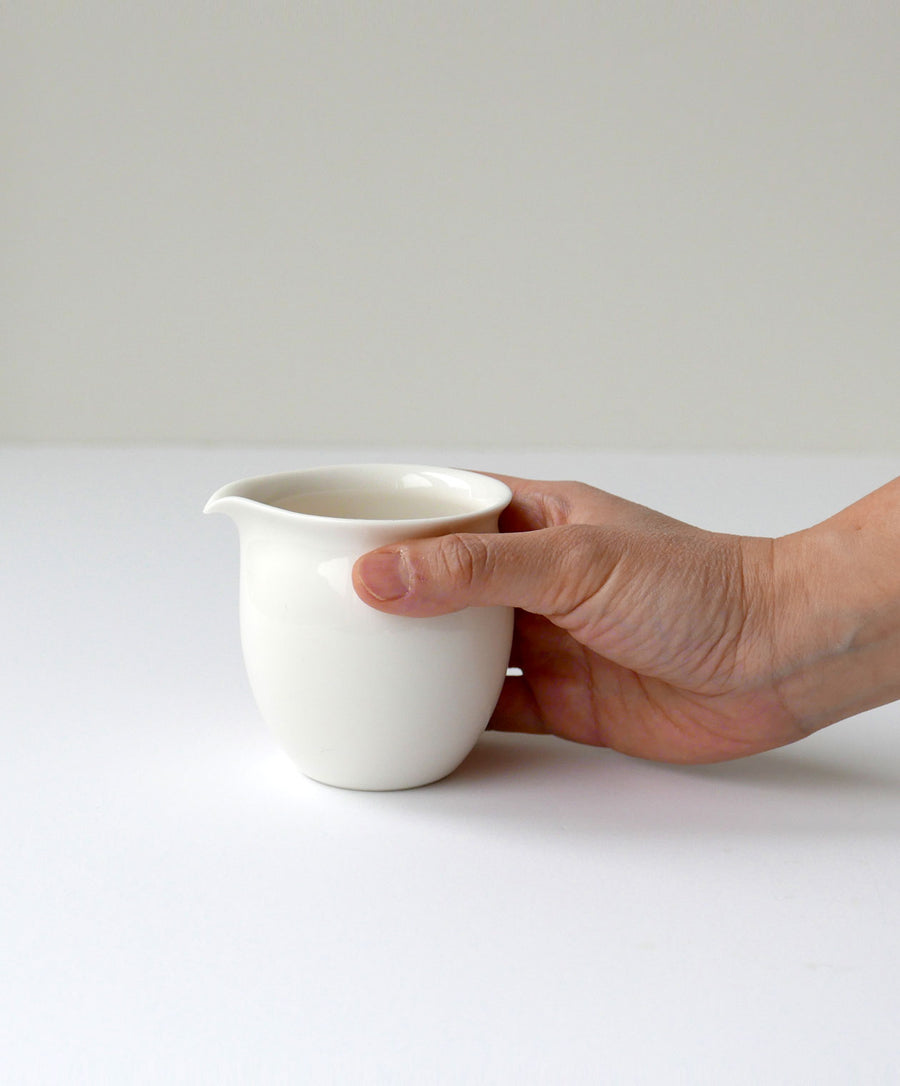 small porcelain pitcher size