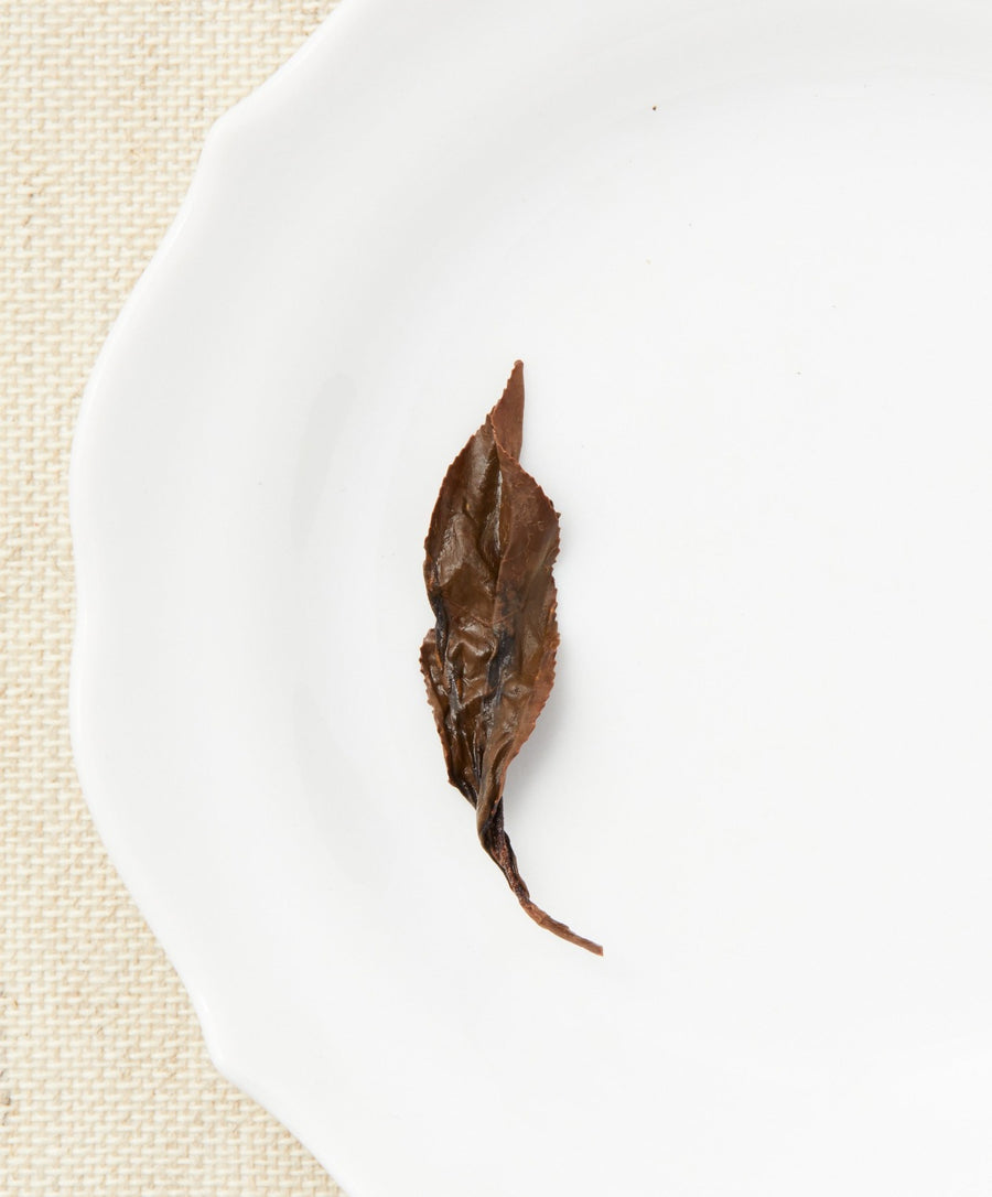 crimson grace black tea open leaf