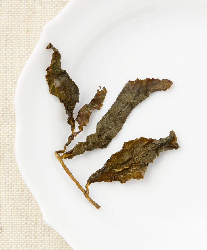 frozen summit high grade oolong tea open leaf