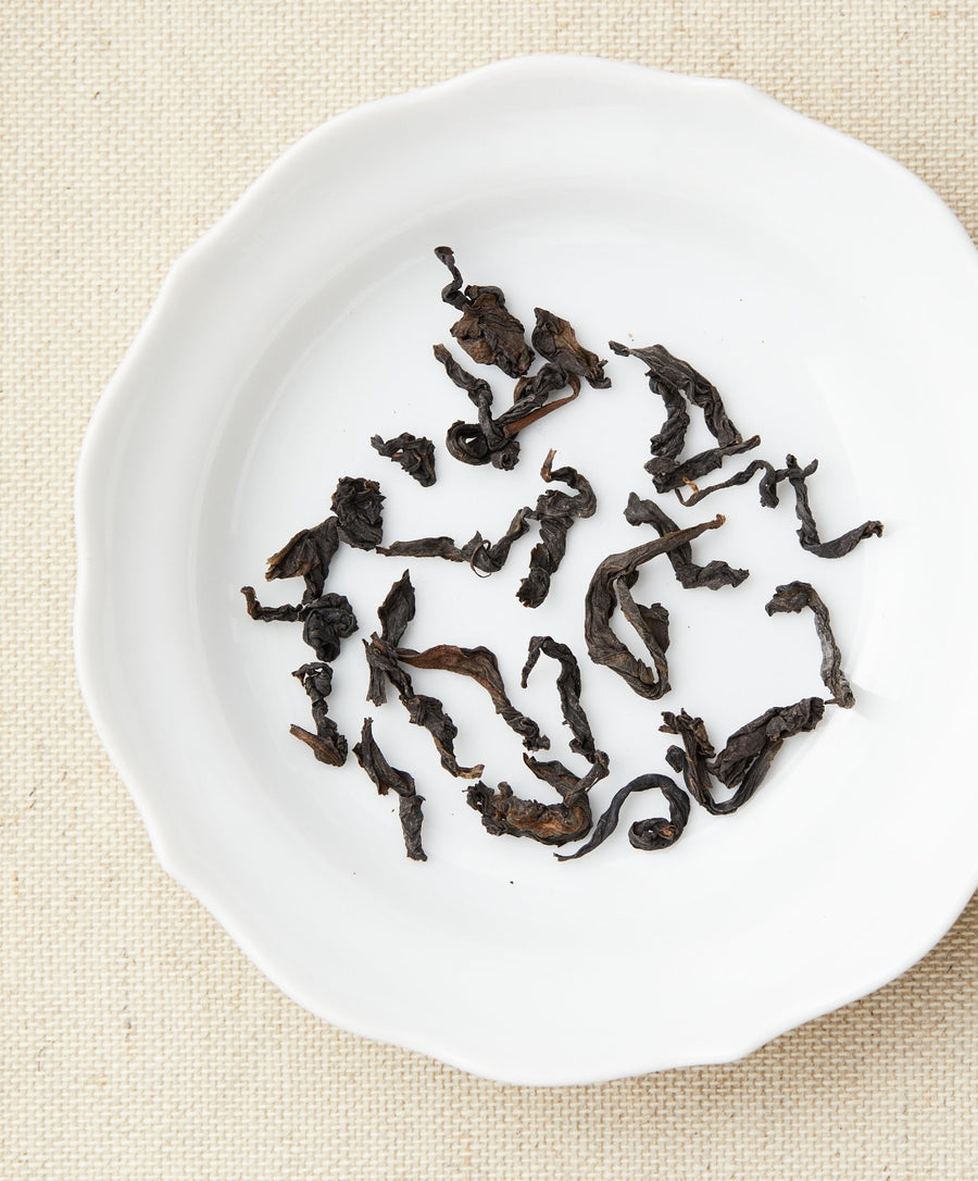 aged baozhong oolong tea dry leaf