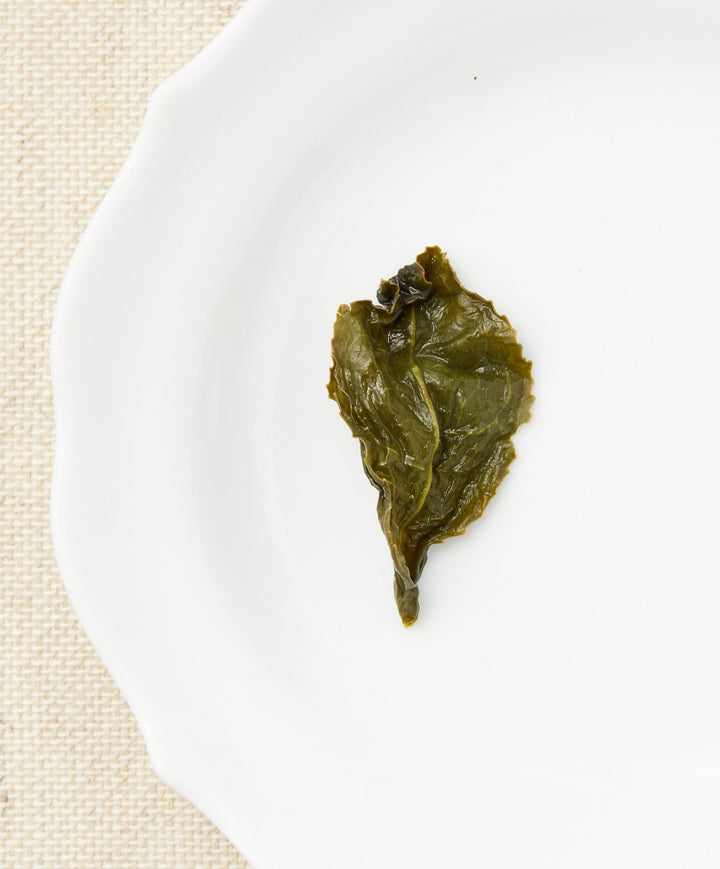 milk oolong tea open leaf
