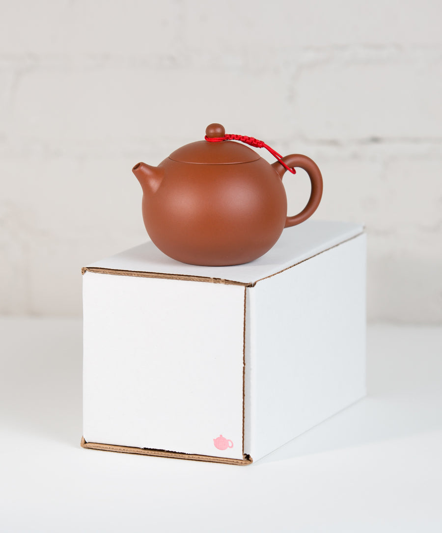 tea pot and box