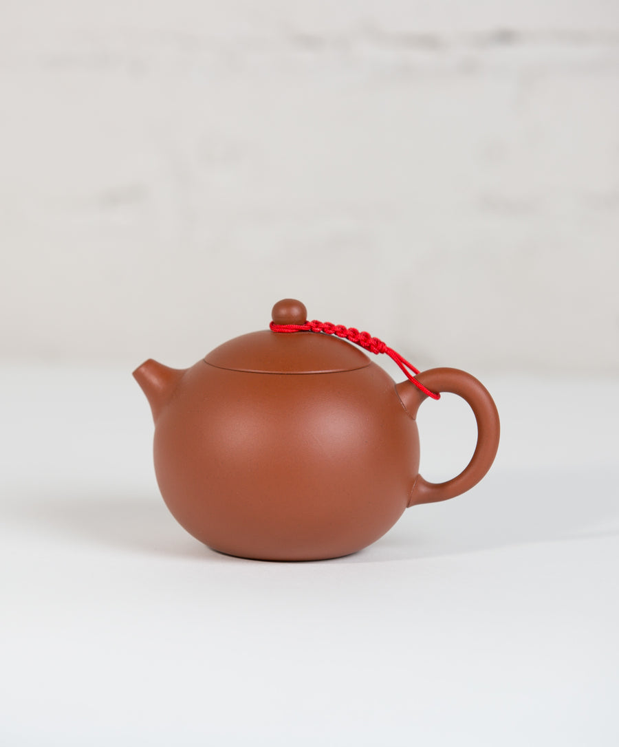 terracotta clay tea pot
