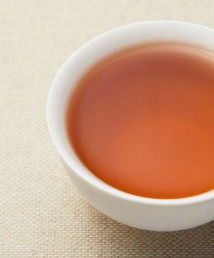 ruby brew oolong tea color