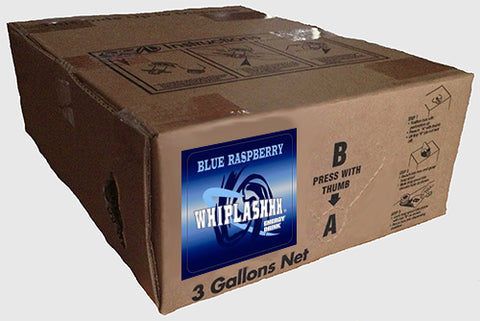 Whiplashhh Energy Drink Blue Raspberry Bag-in-Box