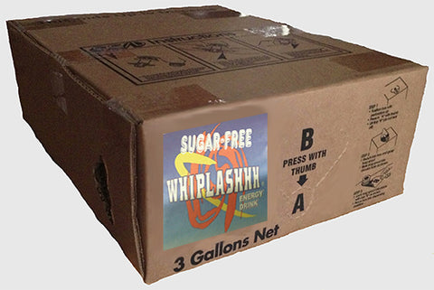 Whiplashhh Energy Drink Sugar Free Bag-in-Box