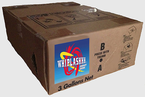 Whiplashhh Energy Drink Regular Bag-in-Box