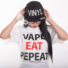 Vape Eat Repeat Tee