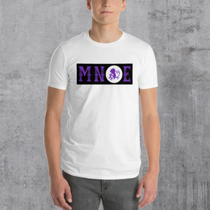 MNQE Brand T-shirt - Black/White