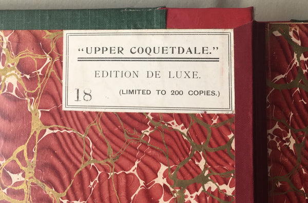 David Dippie Dixon - Upper Coquetdale - Deluxe Limited Edition 1903