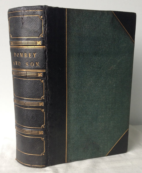 Charles Dickens - Dombey and Son - UK 1st 1848 Extra Illustrated