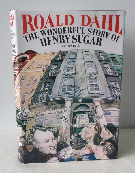 Roald Dahl - Signed - The Wonderful Story of Henry Sugar UK DJ 1984