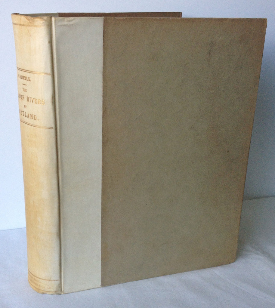 A Grimble - The Salmon Rivers of Scotland 1902 First One Volume Edition