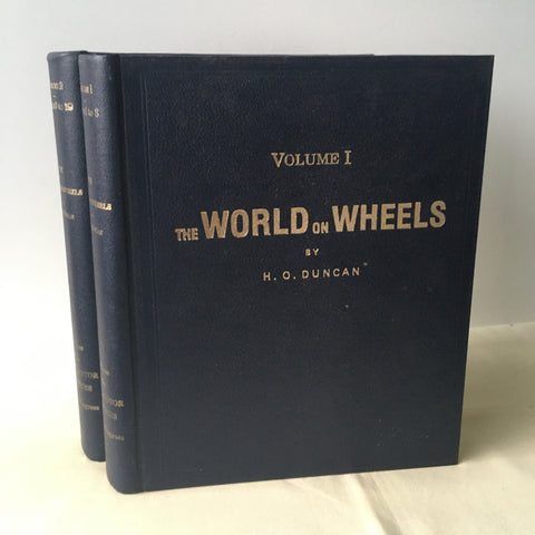 H.O. Duncan - The World on Wheels (Complete in Two Volumes)