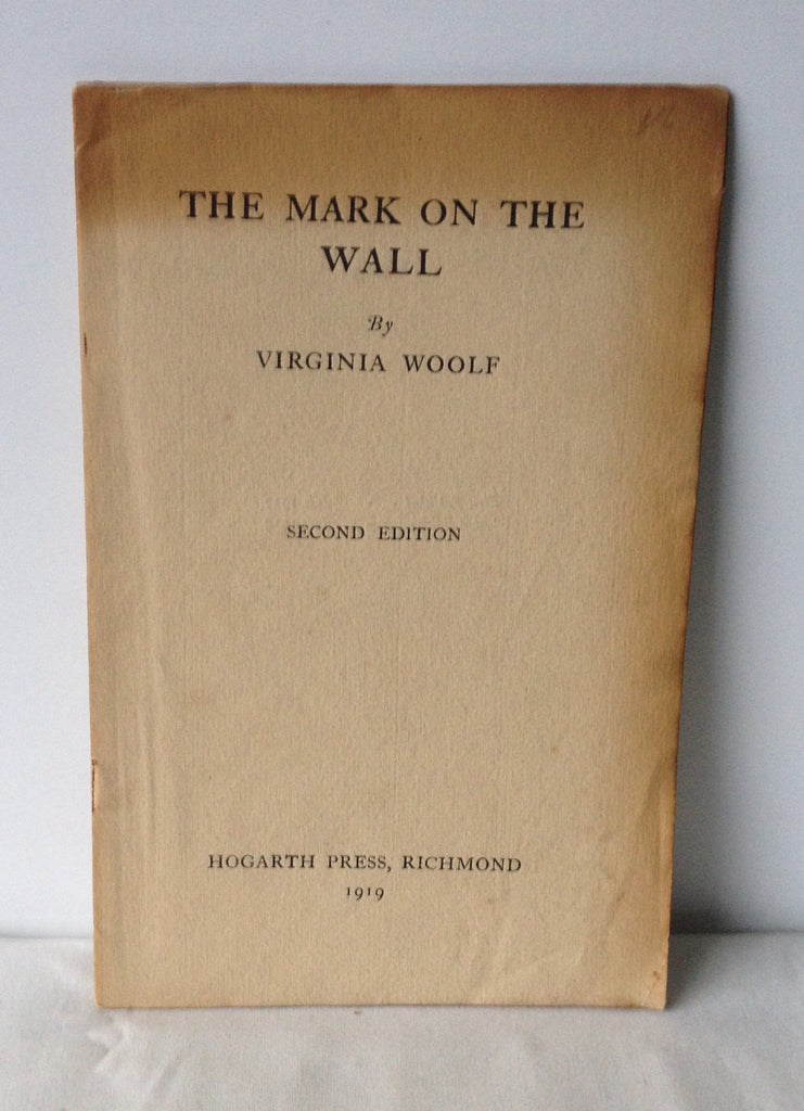 woolf the mark on the wall