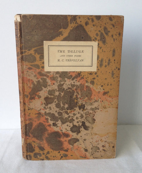 R C Trevelyan - The Deluge UK 1st 1926 Presentation Copy