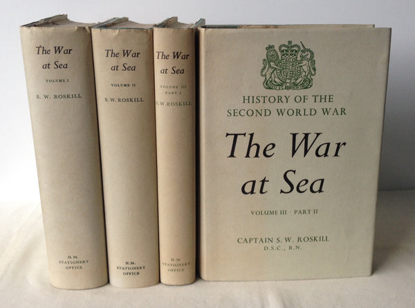 Captain S.W. Roskill - The War at Sea - Complete in 4 Volumes