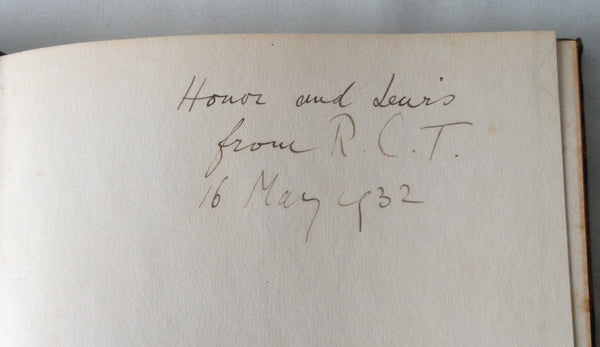 R C Trevelyan - Rimeless Numbers UK 1st 1932 Inscribed