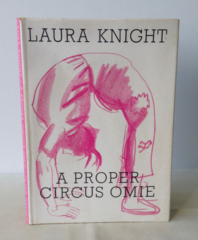 Dame Laura Knight - Signed - A Proper Circus Omie - 1st 1962