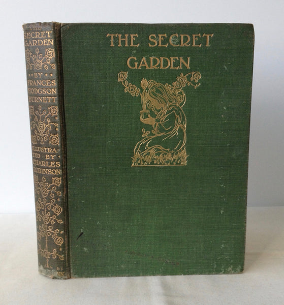 Frances Hodgson Burnett - The Secret Garden - UK 1st 1911