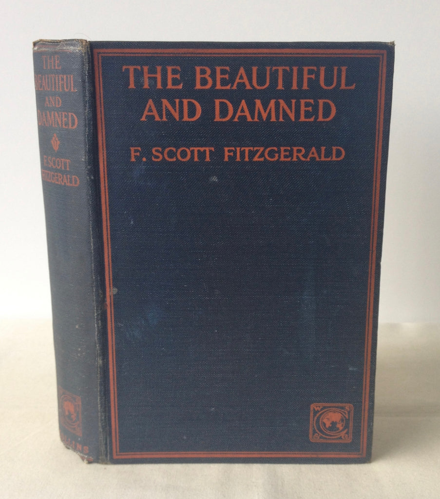 F Scott Fitzgerald - The Beautiful and Damned UK 1st 1922