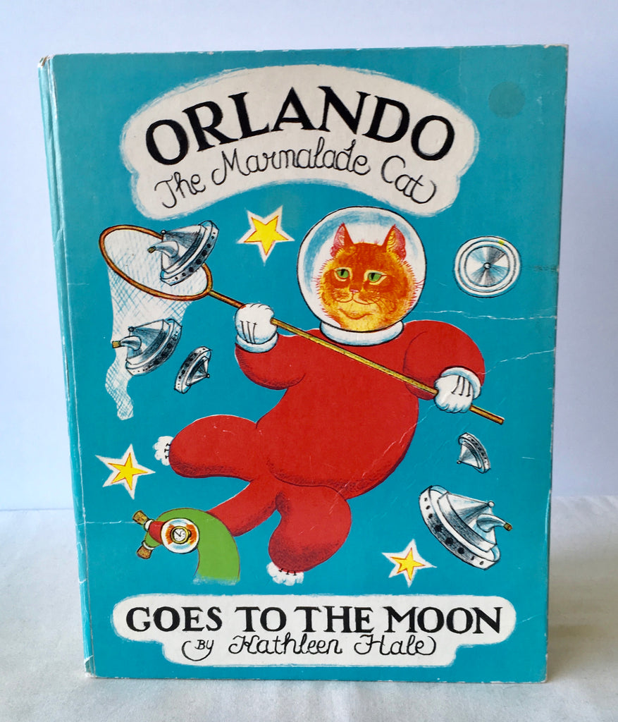 Kathleen Hale - Orlando The Marmalade Cat Goes to the Moon - UK 1st 1968