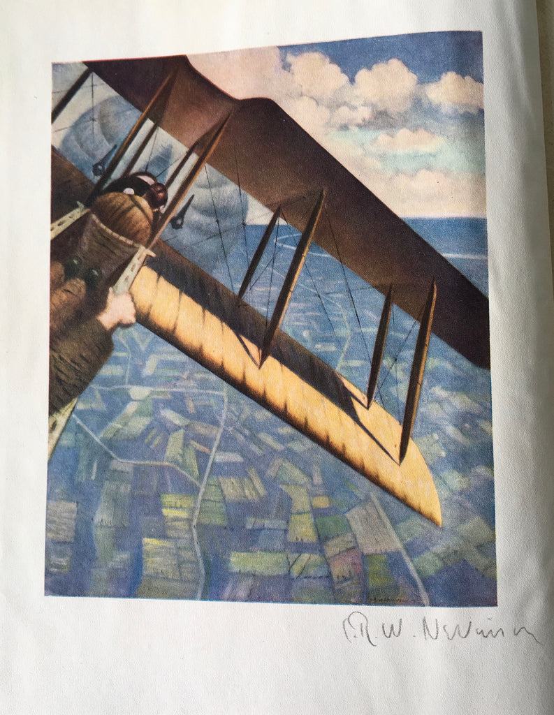 C.R.W. Nevinson - Signed - The Great War. Fourth Year Paintings - UK 1st 1918