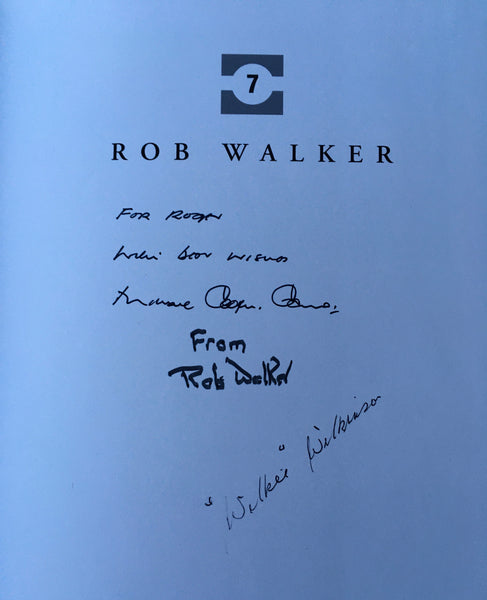 Michael Cooper-Evans - Rob Walker - Multi-Signed - UK 1st DJ 1993