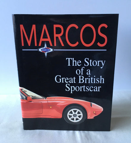 David Barber - Marcos: The Story of a Great British Sportscar - UK 1st DJ 1995