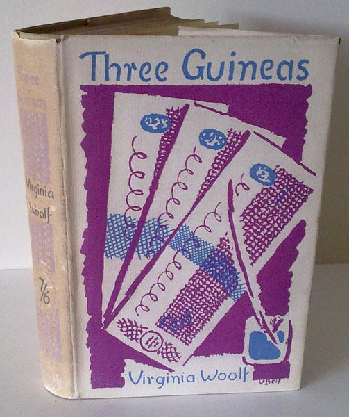 VIRGINIA WOOLF - THREE GUINEAS UK 1st 1938 DJ