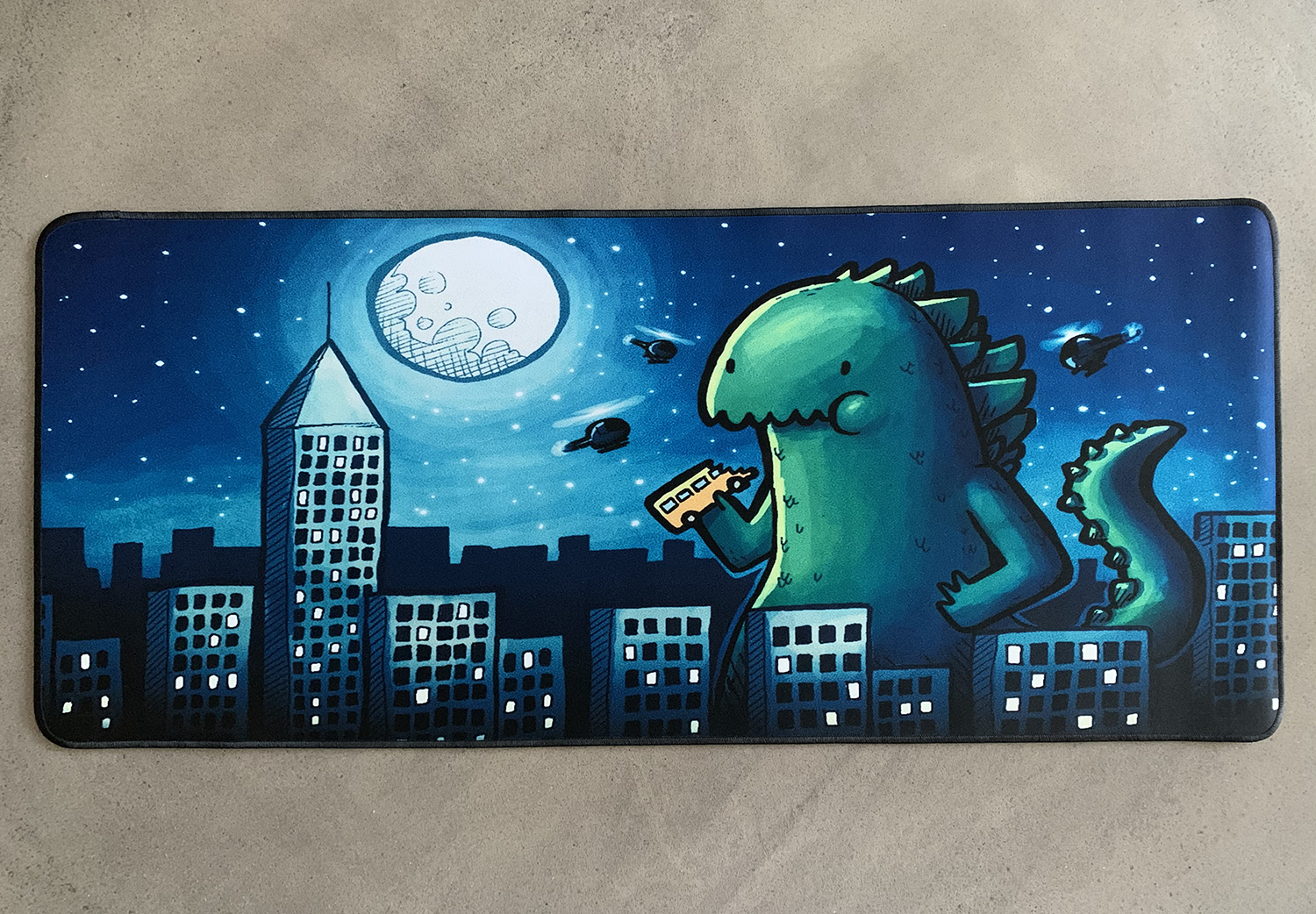 Night Monter Mousepad