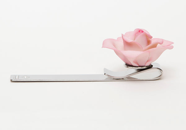 Pink rose (Centenary Stainless Steel collection)