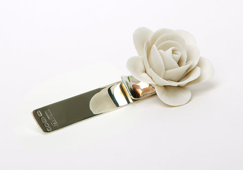 Matt camellia (925 Sterling Silver collection)