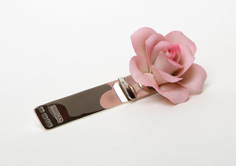 Pink rose (925 Sterling Silver collection)