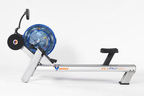 First Degree Fitness Rudergerät Vortex VX-3 Fluid Rower, FR-VX3FA