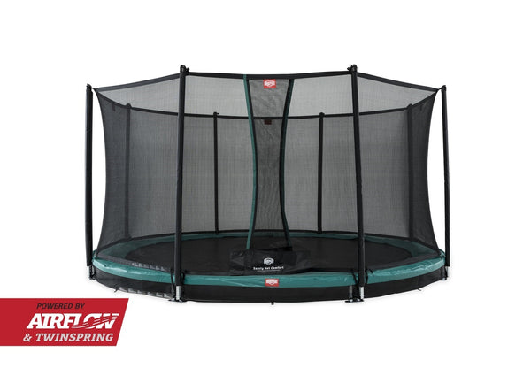BERG InGround Trampolin Champion 430+Sicherheitsnetz Comfort,35.44.09.01