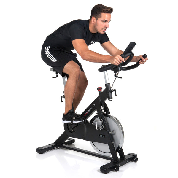 Finnlo Indoor Cycle Speedbike CRS 2 mit Filz-Bremsbacken, 3207