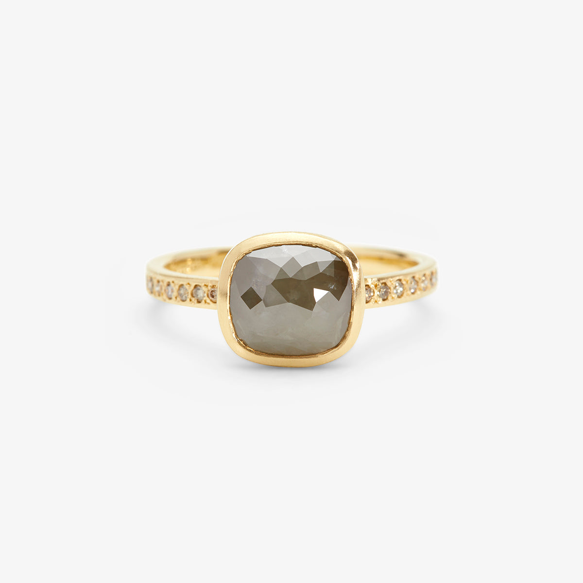 18K Yellow Gold - on 1